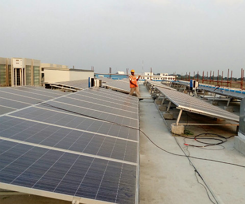 150 KW Solar Power Plant
